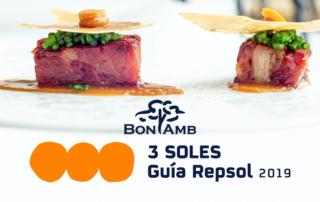 3 soles Repsol BonAmb